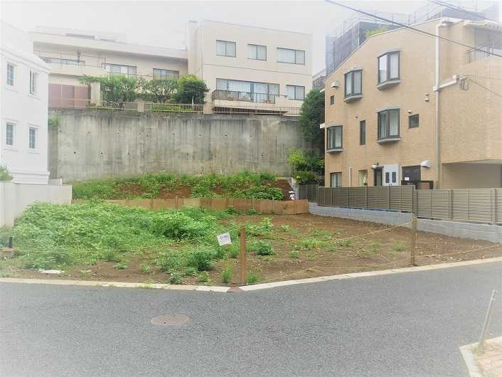 渋谷区 広尾の土地売却